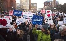 Biểu tình phản đối chính sách nhập cư của ông Trump