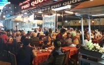 Chợ đêm Phú Quốc tối mùng 3 tết tràn ngập du khách