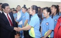 Bộ trưởng Nguyễn Ngọc Thiện mong các VĐV noi gương xạ thủ Hoàng Xuân Vinh