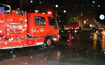 Điều tra nguyên nhân vụ cháy xưởng xe bus ôtô Trường Hải