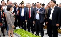Nâng mức cho vay đầu tư nông nghiệp công nghệ cao
