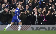 Hazard ghi bàn thắng đẹp, Chelsea bỏ xa Arsenal 12 điểm
