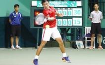 VN tạm hòa Hong Kong tại Davis Cup 2017