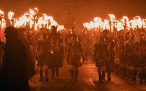 Lễ hội lửa của 'binh sĩ Viking' nhiều ngưòi muốn biết một lần