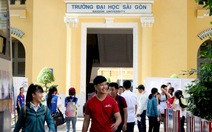ĐH Sài Gòn ngừng tuyển một số ngành bậc cao đẳng