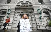 Tòa chưa ra phán quyết về lệnh cấm nhập cảnh của ông Trump