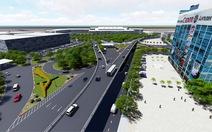 Khởi công hai cầu vượt xóa kẹt xe sân bay Tân Sơn Nhất