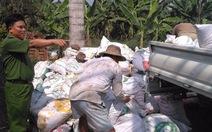 Phục bắt quả tang doanh nghiệp đổ chất thải ra môi trường