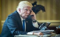 Tại sao các cuộc điện đàm của ông Trump liên tục bị rò rỉ?