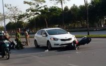 Tai nạn liên hoàn trên đại lộ Mai Chí Thọ
