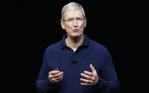 """Giám đốc điều hành Apple kêu gọi chống """"tin giả"""""""