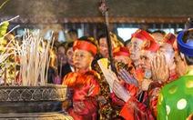 Chủ tịch nước dâng hương và dự lễ khai ấn đền Trần