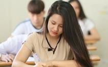 Thí sinh đăng kí thi THPT quốc gia đến ngày 20-4