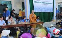 Trao 702 phần quà cho hộ nghèo vùng hạn Ninh Thuận