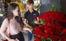 Hoa hồng mạ vàng 24k cho ngày Valentine