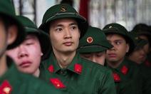 3.500 thanh niên Hà Nội nhập ngũ trong ngày lễ tình yêu