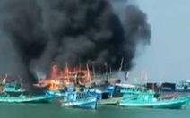 Phú Quốc: Cháy ghe câu mực thiệt hại gần 1,5 tỉ đồng