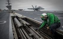 Tàu sân bay Mỹ trên đường hướng đến tuần tra ở Biển Đông
