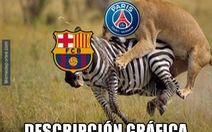 """Bóng đá thế giới choáng váng vì PSG """"tàn sát"""" Barca"""