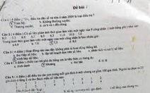 Vụ lộ đề thi công chức ở Đắk Lắk: phạt bổ sung 5 triệu đồng/người