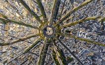 Choáng ngợp vẻ đẹp Paris,New Delhi,Dubai...từ trên cao