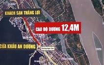 """Chủ tịch Hà Nội """"đính chính"""" không xin hạ đê sông Hồng"""