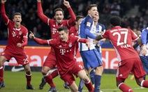 Lewandowski giúp B.M cầm chân Hertha Berlin ở phút 90+7