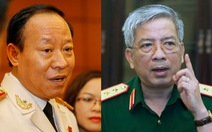 Bổ nhiệm lại hai thứ trưởng Bộ Công an và Bộ Quốc phòng