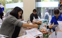 Chung tay bán 100 tấn cam giúp bà con Hà Giang