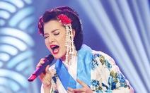 'Geisha Nhật'Phương Trinh Jolie điểm cao nhất đêm Hãy nghe tôi hát