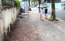 Vỉa hè trung tâm Sài Gòn sau khi được giải cứu