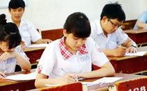 Học sinh lớp 12 Hà Nội tập dượt thi THPT quốc gia