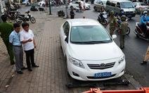 Ông Đoàn Ngọc Hải: Các xe biển số xanh đã đóng phạt