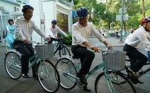 Sở GTVT, Thành Đoàn, báo Tuổi Trẻ phát động nhân viên đi xe đạp