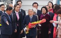 Nhà vua Akihito và Hoàng hậu đến Hà Nội