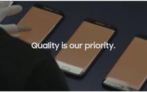 Samsung củng cố niềm tin với khách hàng