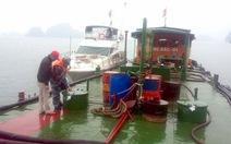 Bắt tàu chở 50.000 lít dầu DO không giấy tờ hợp pháp