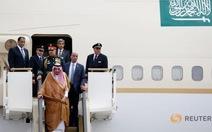 Quốc vương Ả Rập Saudi đưa theo 1.500 người công du châu Á