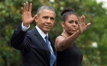 Vợ chồng Obama viết hồi ký kiếm 60 triệu USD