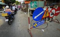TP.HCM công bố 492 tuyến đường cấm đào năm 2017