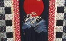 Ngắm tranh vải Nhật hòa cùng tơ lụa Việt