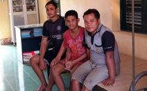 Cứu 3 thuyền viên Indonesia trôi dạt trên biển