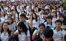 Đang tư vấn tuyển sinh tại Tiền Giang