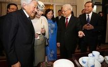 Tổng bí thư hội kiến Nhà vua và Hoàng hậu Nhật Bản