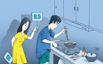 Chồng không bao giờ vào bếp, do ai?
