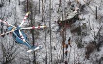 Trực thăng chở 9 người rơi ở Nhật Bản