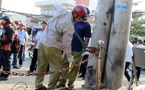 Phó chủ tịch quận Bình Tân ra đường dọn dẹp vỉa hè