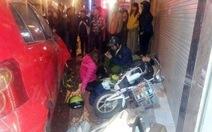 Ôtô tông hàng loạt xe máy, nhiều người nhập viện