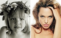 Ngắm ảnhAngelina Jolie,Brad Pitt, Thành Long... thời thơ ấu