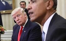 Ông Trump bị áp lực xin lỗi do cáo buộc Obama nghe lén
